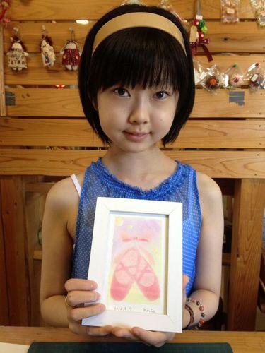 「かきのき村」パステルアート教室☆3日目