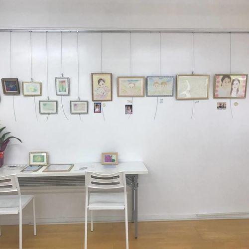 「フローレ館」にてヒーリングアート展開催。