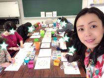 NHKカルチャー広島で 塗り絵セラピー教室