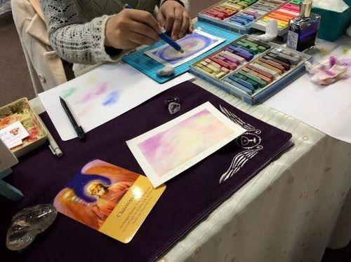 【大天使オラクルカード+インスピレーションパステルアート】